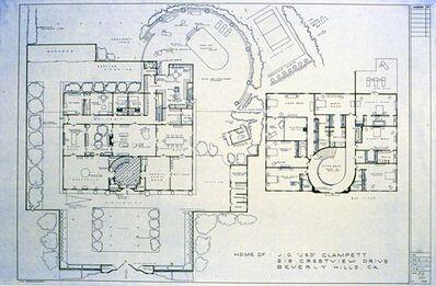 "Mark Bennett, 'Home of: J.D. ""Jed"" Clampett, 518 Crestview Drive, Beverly Hills, CA (The Beverly Hillbillies)', 1995"