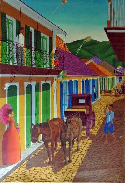 Jean-Baptiste Bottex, 'Carriage in Cap-Haitian', 1970