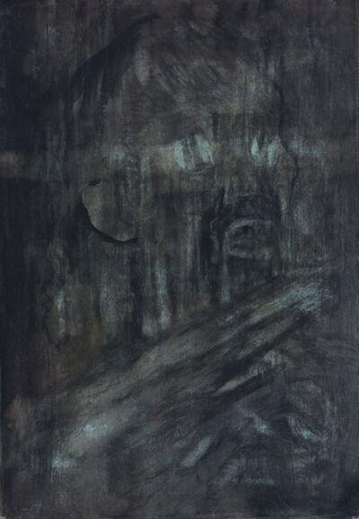 Lutz Hatzor, 'Anxious Man', 1975
