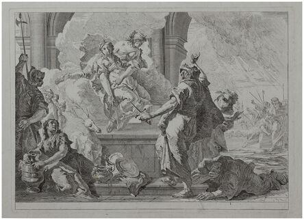 Francesco Fontebasso, 'The Sacrifice of Iphigenia.', ca. 1750