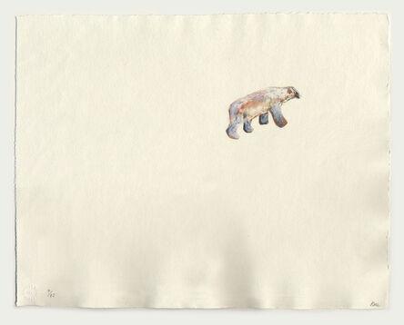 Barbara Rae, 'Lone Bear Peel Sound', 2019