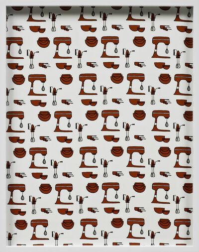 Elad Lassry, 'Mixing Bowls, Mixer', 2012
