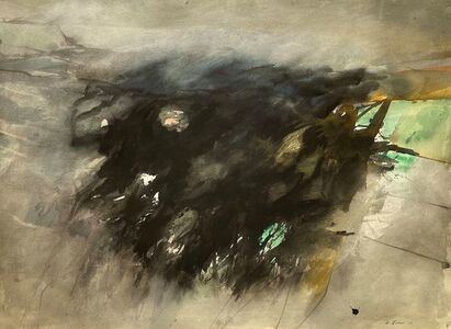 Michael Loew, 'Blackscape (Monhegan)', 1973