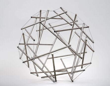 R. Buckminster Fuller, 'Thirty Strut Tensegrity Sphere', 1980