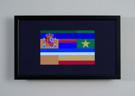 Mark Napier, 'net.flag: ten years of flags', 2002-2012