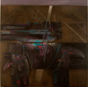 Fernando de Szyszlo, 'Dos Caminos a Mendieta', 1997
