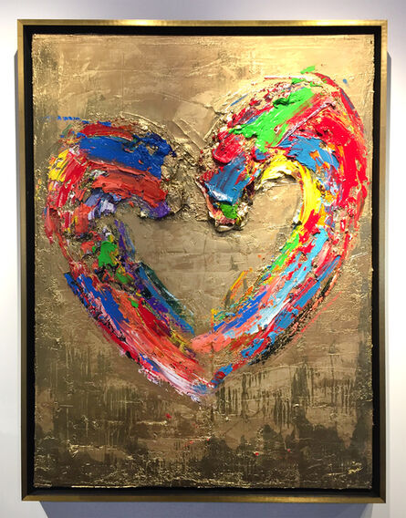 Tanner Lawley, 'Our Heart Of Gold', 2018