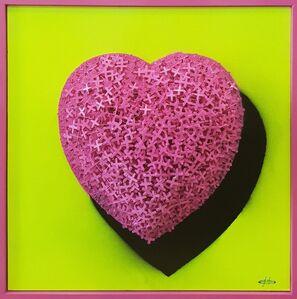 Giovanni Confortini, 'Pink Heart', 2018