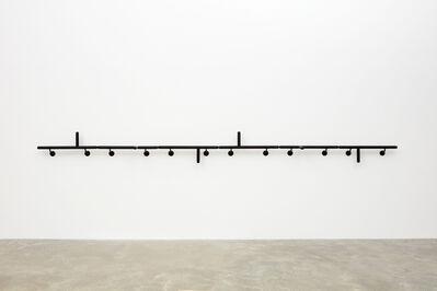 Mateo López, 'Handrail (Police Batons) ', 2018