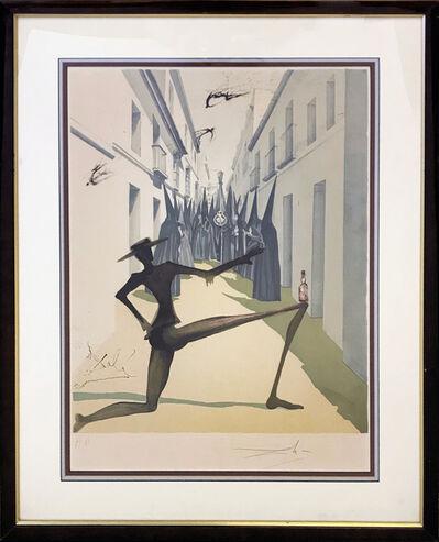 Salvador Dalí, 'THE BIRD HAS FLOWN', 1970