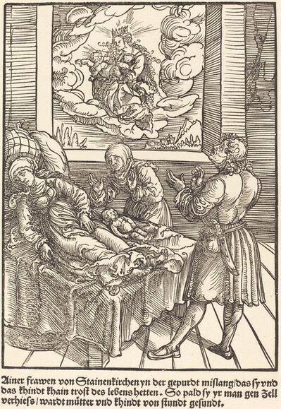 Master of the Miracles of Mariazell, 'Ainer frawen von Stainerkirchen ...', ca. 1503