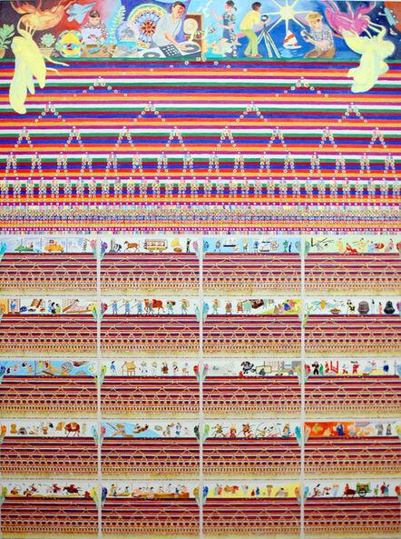 Nobuaki Takekawa, 'Cicada's eclosion and I: 3250 years #3', 2008