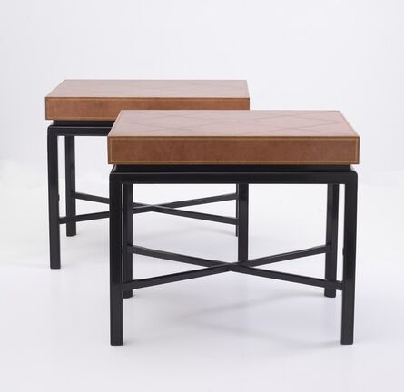 Tommi Parzinger, 'Pair of Side Tables', ca. 1950