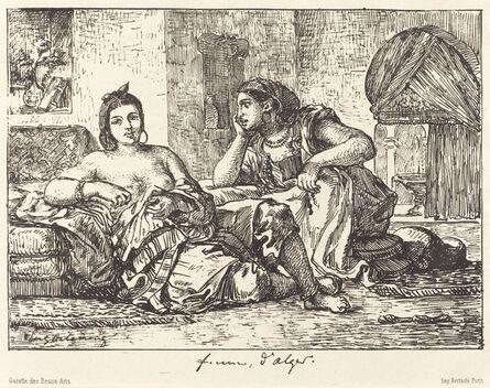Eugène Delacroix, 'Femmes d'Alger', 1833