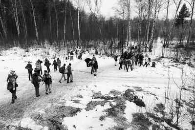 Matthew Webb, 'Return to the forest (Maslenitsa pagan festival, Moscow)', 2014