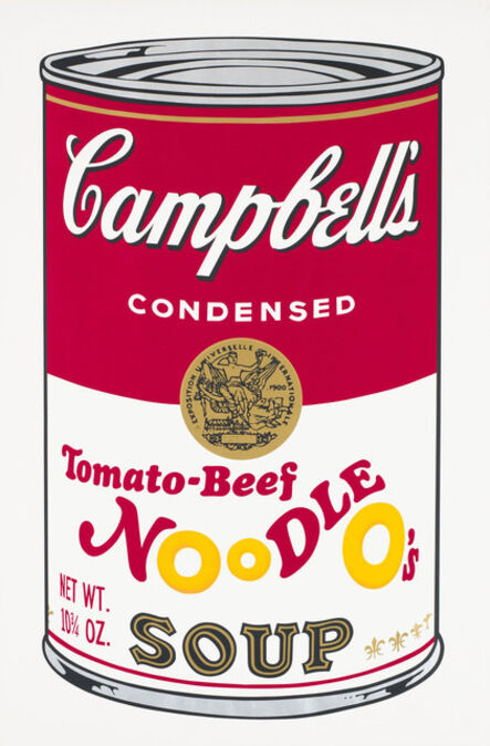 Andy Warhol, 'Campbell's Tomato Beef Noodle O's Soup', 1969