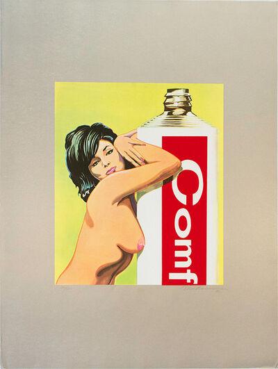 Mel Ramos, 'Miss Comfort Creme', 1965