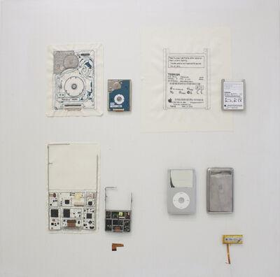 Stitch Dog, 'Hand-stitched iPod circuit board', 2017
