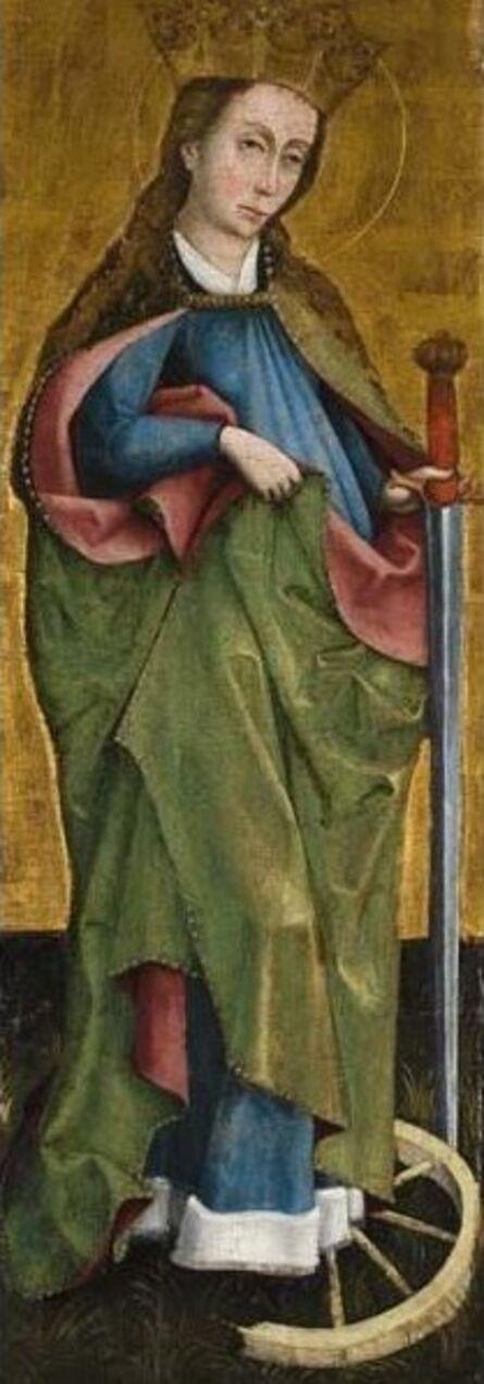 Unknown Artist, 'Saint Catherine of Alexandria', ca. 1460