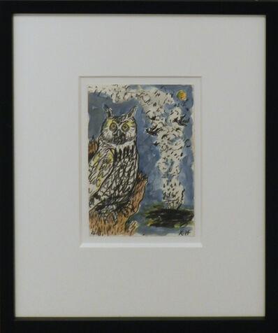 Frank X. Tolbert, 'Great Horned Owl', 2015