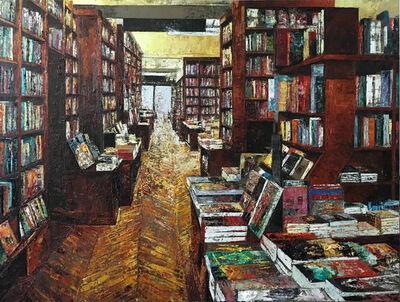 Massimo Giannoni, 'Interno Libreria Parigi'