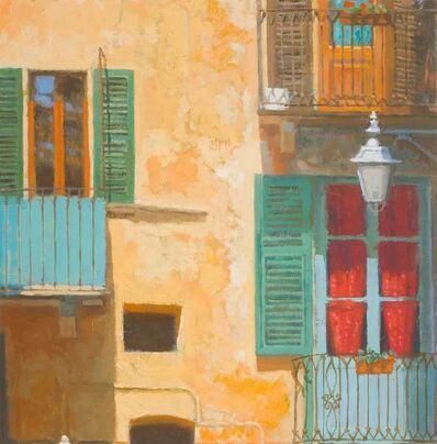 Nicholas Verrall, 'Windows and Balconies, Italy', 2020