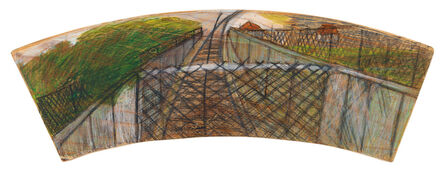 Lance Rivers, 'Train Track Landscape', 2011