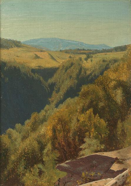 Jervis McEntee, 'Summer Hills, Hunter Mountain', 1867