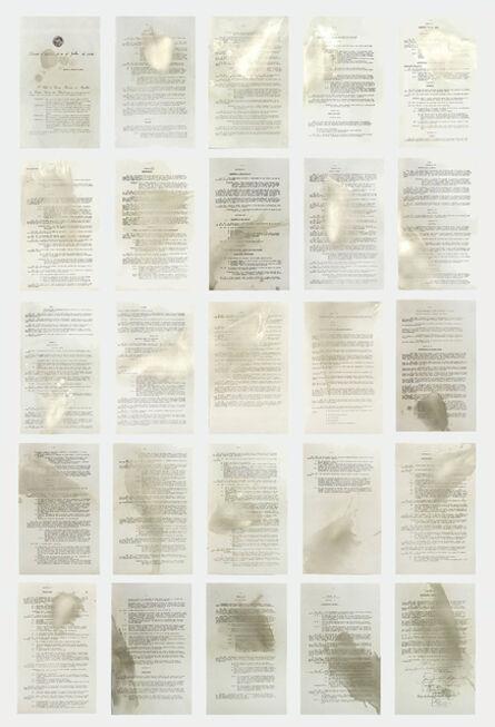 Ana Amélia Genioli, 'Spilled Code', 2016