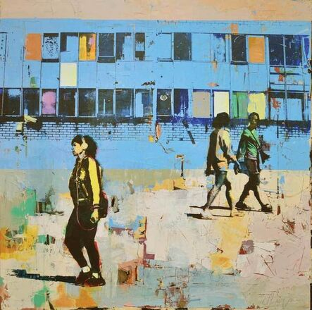 Dan Parry Jones, 'Blue Windows', 2017