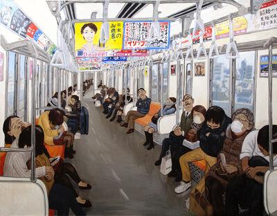 Jiro Osuga, 'Sleeping Passengers', 2013