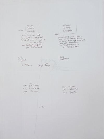 Joseph Beuys, 'Gletscher Schwamm Totenbett (309)', 1979