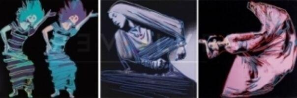 Andy Warhol, ' Martha Graham Complete Portfolio (FS II.387-389) by Andy Warhol ', 1986