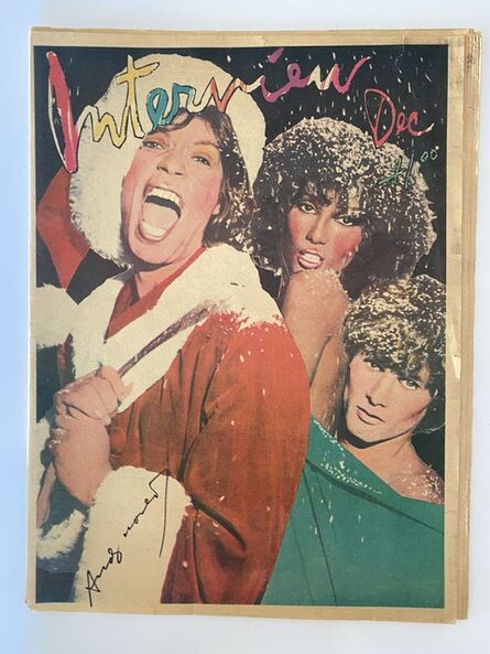Andy Warhol, 'Interview Magazine signed by Andy Warhol (Mick Jagger)', ca. 1971