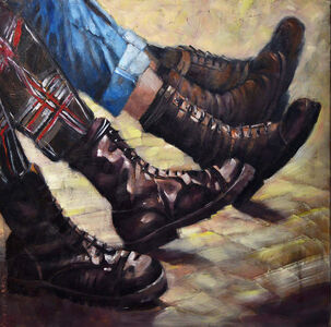 Pascale Taurua, 'Doc Martens In The Street', 2019