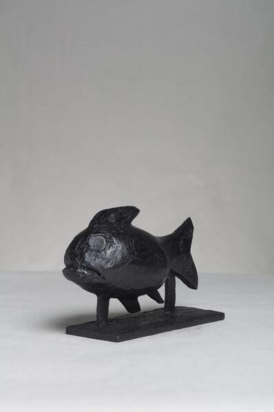 William Kentridge, 'Cursive (Fish)', 2020