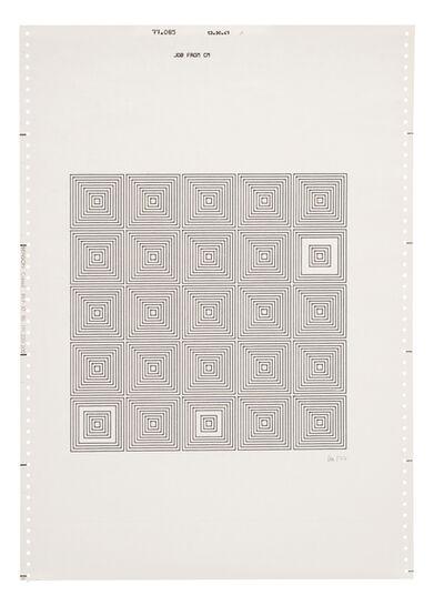 Vera Molnar, 'Untitled (14)', 1977