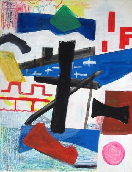 Shirley Jaffe, 'Untitled #57'