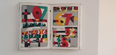 Ugo Nespolo, 'BAV.TR Ex Libris', 1990-1995