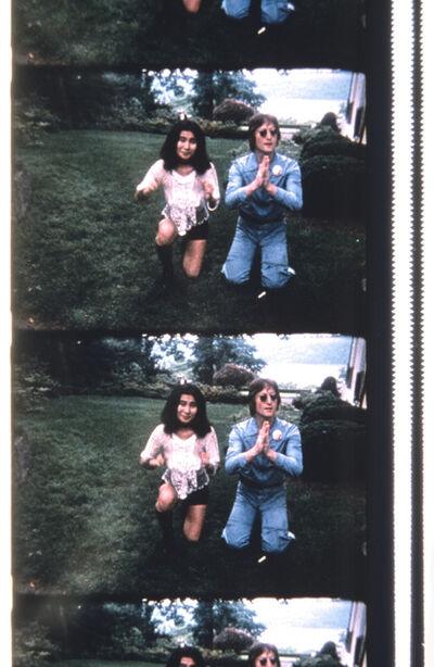 Jonas Mekas, 'John & Yoko Posing for a Polaroid to be delivered to George Maciunas', 2013