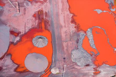 Alex Maclean, 'Ore Runoff, Duluth, MN', 2014