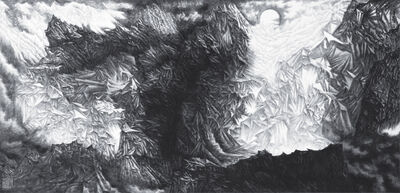Yu Hanyu, 'Glaciers in the Moon Light', 2010