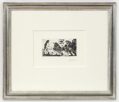 Pablo Picasso, 'Vieux beau saluant très bas une pupille de la Célestine, 26.5.68 II', 1968