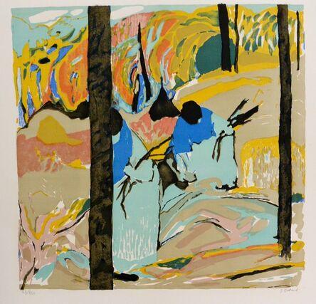 Gabriel Godard, 'La ramasseur', 1974