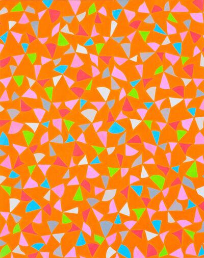 Dennis Koch, 'Untitled (deconstructed Sierpinski matrix light orange multi)', 2012