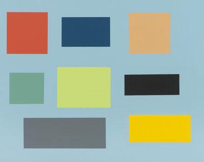 Tom McGlynn, 'Small Survey (blue ground)', 2014