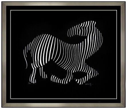 Victor Vasarely, 'Zebra - Cast Relief ', 20th Century
