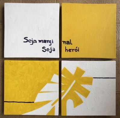 Elaine Fontes, 'Desvio em amarelo', 2020