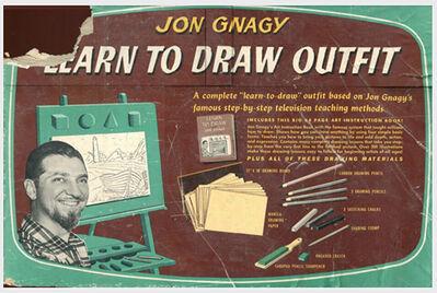 Tim Liddy, 'Learn to Draw'