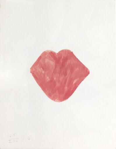 Jim Dine, 'Untitled Lips', 1968